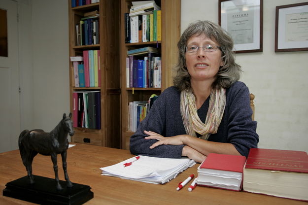 STW Spanga: Hilde Hoenderdos Homeopathie Foto Piet Bosma